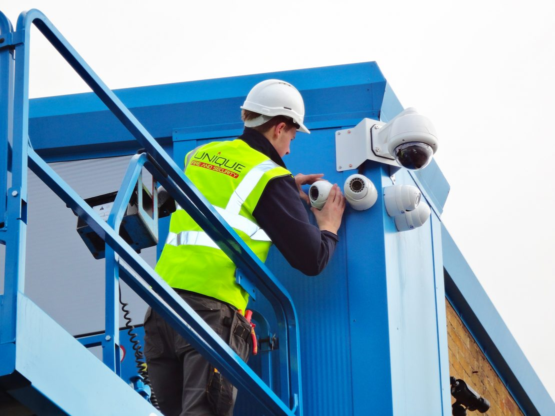 Installation of CCTV camera system in Dorset