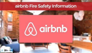 Airbnb fire safety info uk
