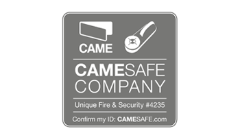 CAME Safe approved installers logo