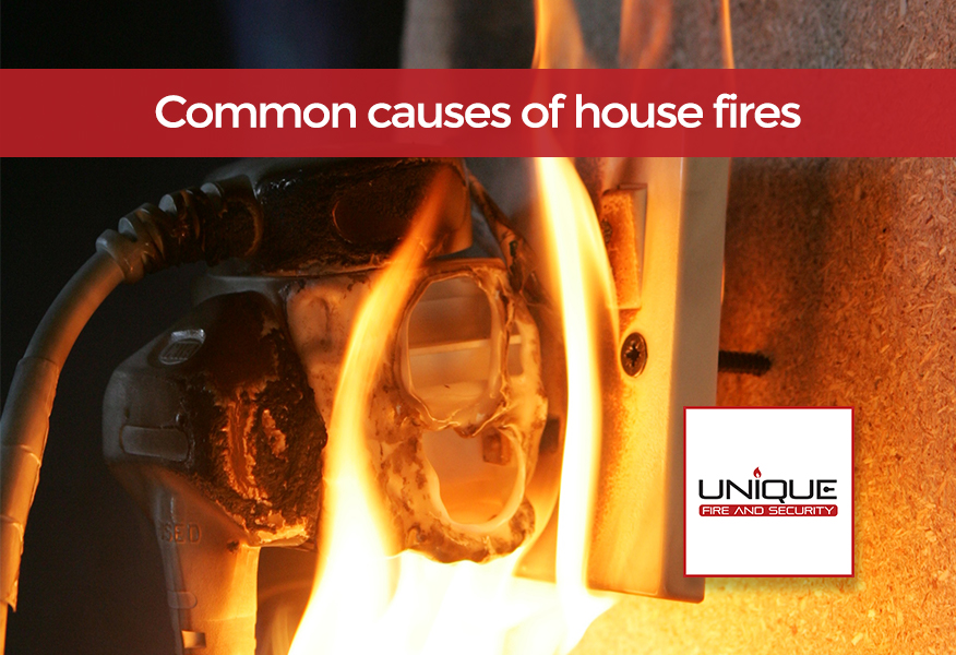 5 Common Causes of Electrical Fires in Homes » Unique Fire ...