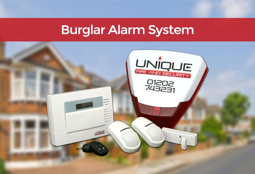 Burglar Alarm System Dorset