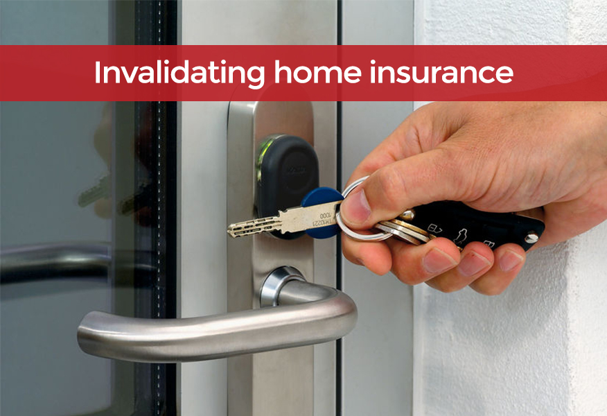Tips to help avoid invalidating your home insurance policy