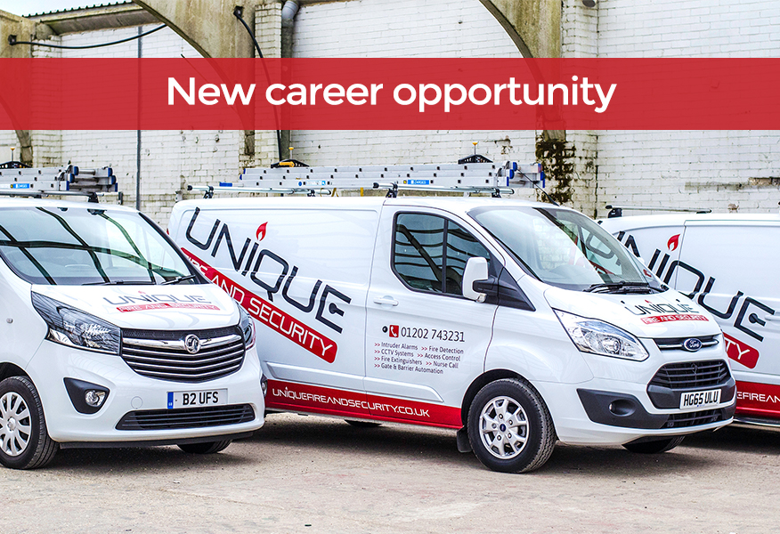 New career opportunity at Unique in Poole